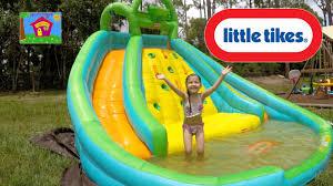 Modest Delightful Best Water Slides For Backyard Slide Little Tikes Biggest Pool