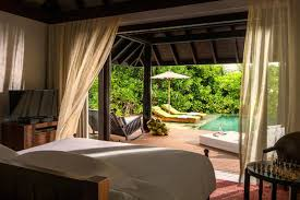 100 Kihavah Villas Maldives Anantara Sunset Beach Pool Villa