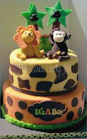 Jungle Cake Ideas Baby Shower Birthday Celebration Cakes Are Now