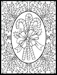 Christmas Coloring Pages For Adults Pinterest Printable Pdf Free Zen Sheets