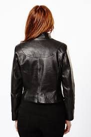 women u0027s vegetable tanned leather jacket production mode chicago