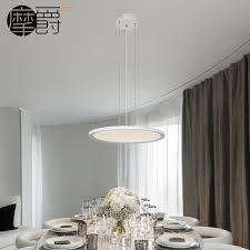 Modern Simple Dining Restaurant LED Panel Light Round Super Slim Pendant For Study Bedroom In Lights From Lighting On Aliexpress