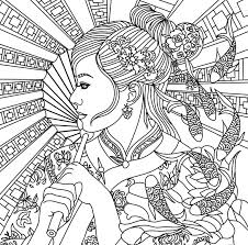 Roblox Coloring Pages Lovely Asian Beauty Adult Page Of Pictures