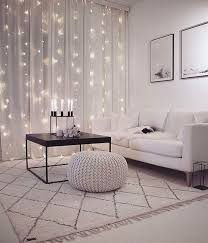 lichterketten zaubern viel gemütlichkeit ins wohnzimmer