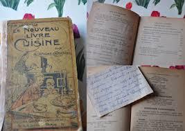 vieux livre de cuisine blanche caramel la vie et rien d autre