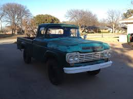 100 Highboy Truck 1959 Ford F100 4x4 HighBoy Factory 4x4 Classic Ford F100 1959 For