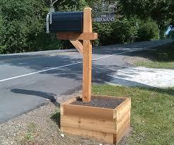 100 Letterbox Design Ideas Cedar Mailbox Post S The Village Woodworker The Wooden