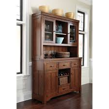 Signature Designs By Ashley Chimerin Medium Brown Dining Room Buffet And Hutch Overstock White Kitchen