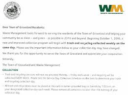 Waste Management Christmas Tree Pickup Schedule by Town Of Groveland Ma Trash And Recycling Information