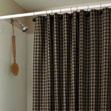 Checkered Flag Window Curtains by Gingham Check Shower Curtains With Available Matching Window