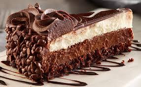 Black Tie Mousse Cake