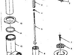 Bathtub Drain Assembly Diagram by 30 Parts Of A Shower Drain Drain Diagram Parts List For Model