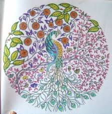 Colored Images From The Secret Garden Coloring Book