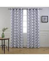 Geometric Pattern Grommet Curtains by Amazing Deals To Ring In The New Year Driftaway Curtains U0026 Drapes