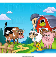 Avenue Clipart Of A Happy Cow, Sheep, Duck And Pig By A Path, Silo ... Farm Animals Living In The Barnhouse Royalty Free Cliparts Stock Horse Designs Classy 60 Red Barn Silhouette Clip Art Inspiration Design Of Cute Clipart Instant Download File Digital With Clipart Suggestions For Barn On Bnyard Vector Farm Library