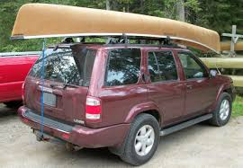 100 Canoe Racks For Trucks Car Topping A The Wrong Way To Do It Tying A