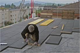 dalle de beton exterieur carrelage exterieur effet