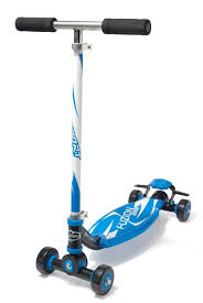 Amazon Fuzion 4 Wheel Sport Scooter Blue Sports Outdoors