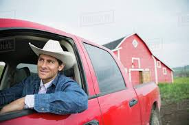 100 Cowboy Truck Rancher With Cowboy Hat Driving Truck Stock Photo Dissolve