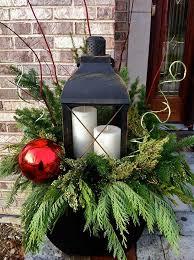 best 25 christmas planters ideas on pinterest outdoor christmas