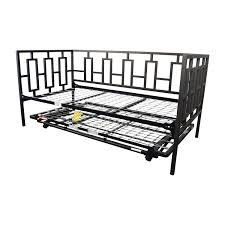Macys Bed Headboards by 65 Off Macy U0027s Macy U0027s Black Metal Framed Day Twin Bed With