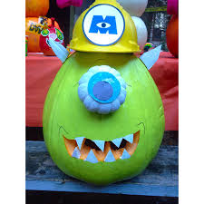 Mike Wazowski Pumpkin Carving Patterns by Mike Wazowski Pumpkin Tutorial Healthy Happy U0026 Hilarious