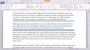 Using The Word I In A Resume by Adding Horizontal Lines In Word 2010
