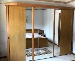 schlafzimmer komplett bett schwebetürenschrank