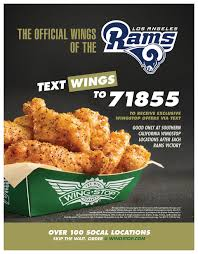Wingstop Now The Official Wing Of The Los Angeles Rams ... Mhattan Hotels Near Central Park Last Of Us Deal Wingstop Promo Code Hnger Games Birthday Sports Addition In Columbus Ms October 2018 Deals Mark Your Calendar For Savings And Freebies Clip Coupons Free Meals At Restaurants Freshlike Uhaul Coupon September Cruise Uk Caribbean Sunfrog December Glove Saver Wdst Restaurant Friday Dpatrick Demon Discounts Depaul University Chicago Get The Mix Discount Newegg Remove Codes Reddit