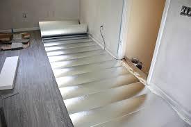 Schluter Ditra Tile Underlayment by Hello Pretty New Floors Office Floor Installation