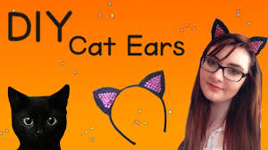 how to make cat ears diy cat ears for