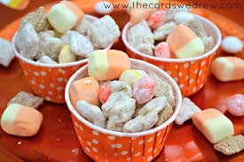 Pumpkin Spice Chex Mix With Candy Corn by Candy Corn Chex Mix The Cards We Drew