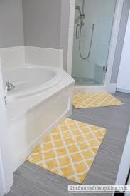 Gray And Yellow Bathroom Decor Ideas by Grey And Yellow Bath Rug Roselawnlutheran