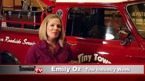 TINY Working TOW TRUCK With A Big Message! - YouTube