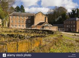 Cromford Mill Derbyshire England The First Water Powered Cotton Spinning In World Built 1771 Now A Heritage Site