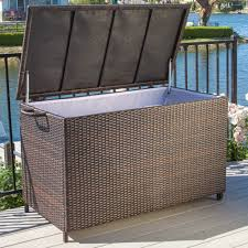 Sams Club Wicker Deck Box by Wicker Resin Deck Box Instadeck Us