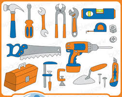 Hammer Tools Clip Art Pliers Pipe Wrench 3