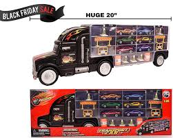 100 Hot Wheels Car Carrier Truck Amazoncom Long Rier Toy Transporter Includes 6 Metal