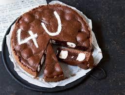 schoko schaumkuss tarte rezept lecker süßes backen
