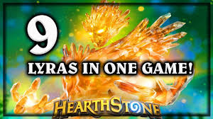 Alarm O Bot Deck Lich King by Hearthstone 9 Lyras In One Game Knights Of The Frozen Throne