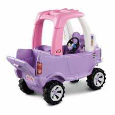 100 Truck Cozy Coupe Little Tikes Princess Riding Push Toy EBay