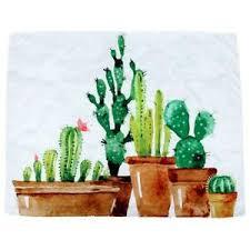 details zu natur dekor tapisserie kaktus muster schlafzimmer wohnzimmer wohnheim d6j9