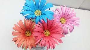 How To Make Aster Flower Out Of Colour Paper