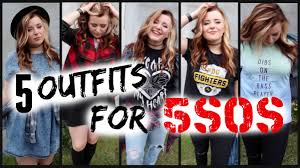 5 OUTFIT IDEAS FOR 5SOS