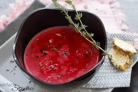rote beete suppe verführerisch aromatisch einfach stephie