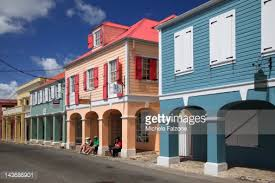 Caribbean Architecture Us Virgin Islands Christiansted St Croix Old Town And