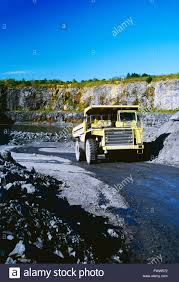 100 Euclid Truck Large Truck Hauling Ore From Quarry Stock Photo 101971158
