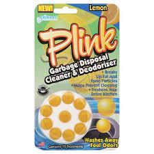 plink lemon garbage disposal cleaner and deodorizer shop