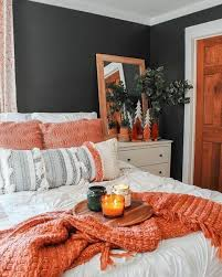 45 blue and orange bedroom ideas easy home concepts home