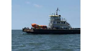 Hot Dog! Oscar Meyer Weiner Truck Sets Sail On Hatteras Ferry
